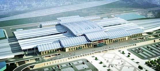 是西客站交通枢纽及商业商务综合性的城市中心,也是京沪高铁济南站的